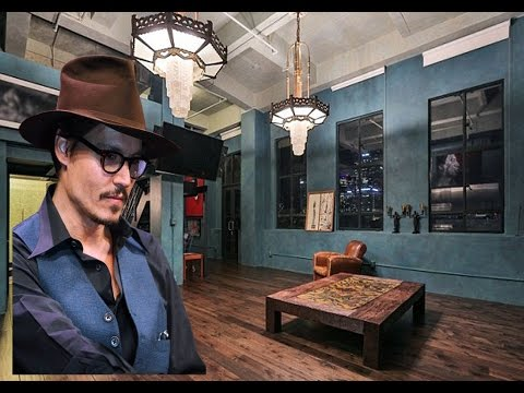 Johnny Depp's House In Downtown Los Angeles - 2016