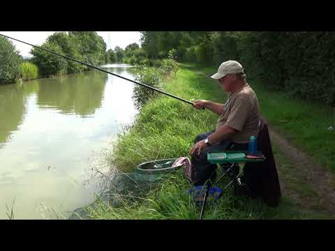 Easy Fishing. Whip Fishing on the Canal for Beginners. Part 2