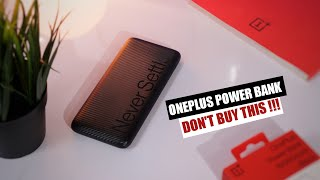 OnePlus Power Bank 10000mAh Unboxing amp Review in Hindi Don 39 t Buy OnePlus PowerBank