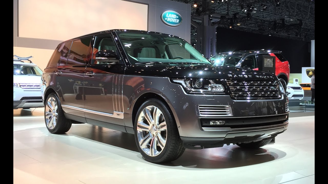 2016 range rover sv autobiography 2015 nyias fast lane daily youtube. Black Bedroom Furniture Sets. Home Design Ideas