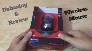 Unboxing amp Review Best budget Wireless Mouse for Laptop Quantum QHM262W 2 4GHz Wireless INDIA