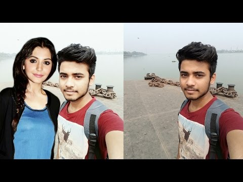 Edit - Click Selfie With Any Celebrity - in Your Smart Phone | Me With Anushka Sharma Selfi