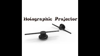 3D Hologram AD LED Fan Holographic Projector