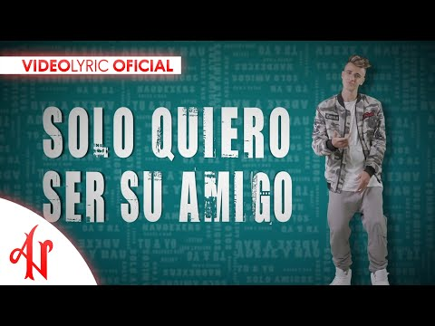 Solo Amigos - Adexe & Nau (Video Lyric Oficial)