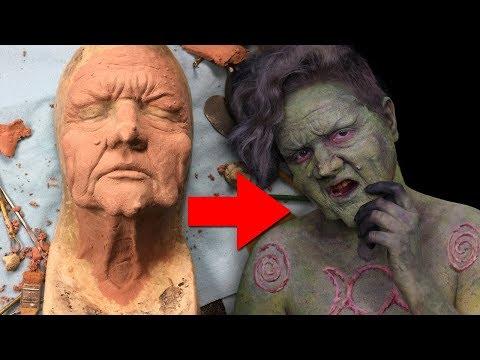 Making My Wicked Witch Prosthetics | ItsGottaBeSarahC