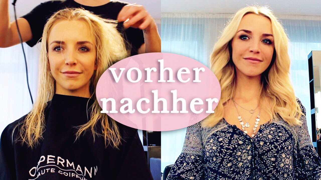 friseurbesuch kleines umstyling vorher nachher haare f rben neuer look fma youtube. Black Bedroom Furniture Sets. Home Design Ideas