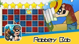 Robbery Bob™ Bonus 5-6 Walkthrough All Levels 3 Stars! Recommend index five stars+