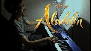 Aladdin 2019 O.S.T - A Whole New World piano cover by Elijah Lee