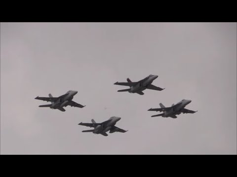 2017 NAS Oceana Airshow - Navy Air Power Demonstration & Fleet Flyby