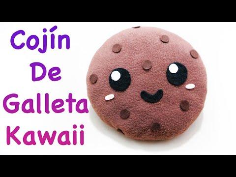 Galleta cookie kawaii plushie cushion f cil como - Cojines faciles de hacer ...