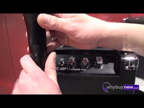 ION Karaoke Pro portable karaoke system. First look with WhyBuyNew.co.uk @ NAMM 2013