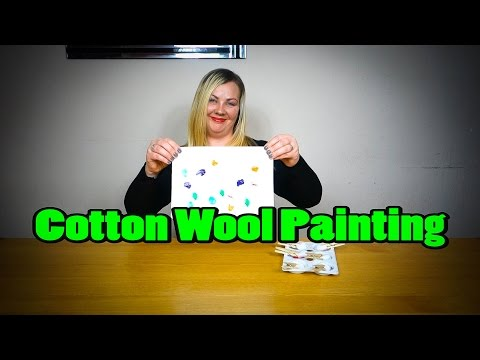 Cotton Wool Painting