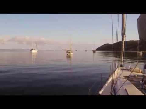 Around Moreton Bay #2 -  Lucinda Bay anchorage