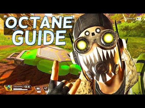 HOW TO USE OCTANE IN APEX LEGENDS - Octane Guide, Myth Busting,Tips and Ticks