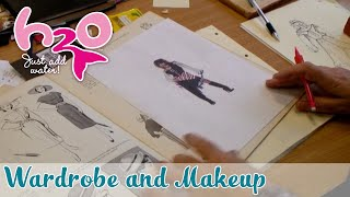 behind the scenes wardrobe and makeup h2o just add water official fan channel