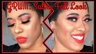 GRWM: Sultry Fall Look