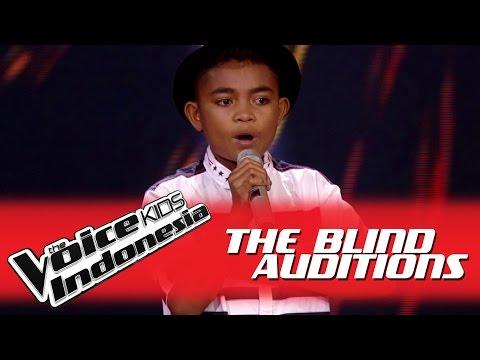 "Stevanus ""Januari"" I The Blind Auditions I The Voice Kids Indonesia GlobalTV 2016"
