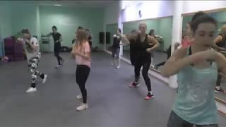 Тai-bo aerobics / Тай-бо боевая аэробика &  Коваль Юлия