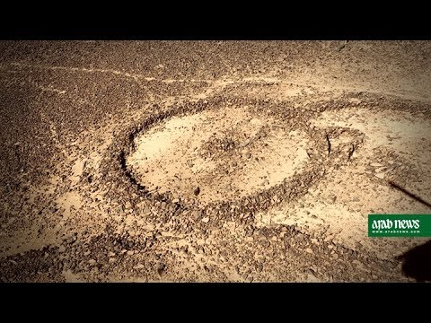 Saudi Arabia's mysterious stone structures seen from the air