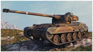 AMX 13 105 • On the Verge of Defeat • WoT Gameplay