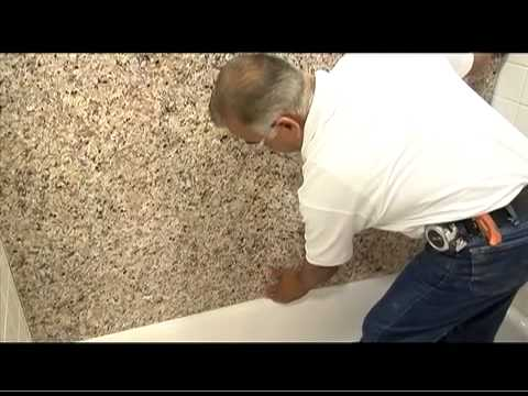 St Paul Bathtub Surround Installation Tile - YouTube