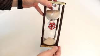 Песочные часы «Управление временем» – обзор от магазина подарков «Счастливый случай»