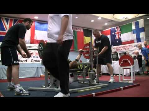 IPF 2014 Master Bench Press World Championship -- 72 thru 84+ Kg Women Masters 1