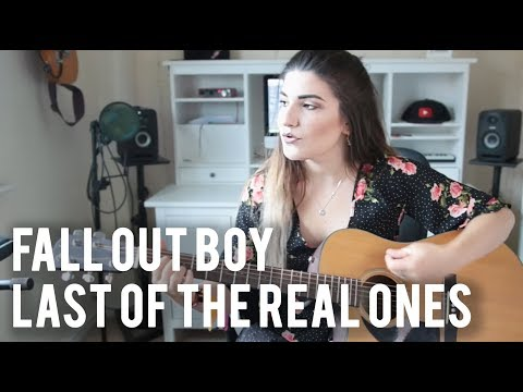 The Last of the Real Ones - Fall Out Boy | Christina Rotondo acoustic Cover