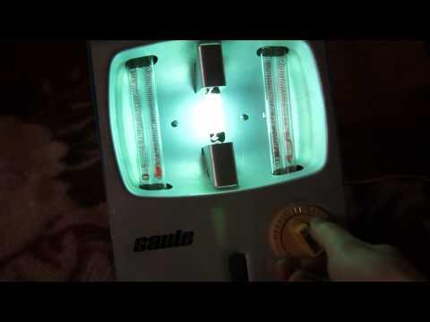 Кварцевая лампа для дома 'Солнышко'. Купить домашнюю