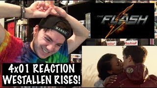 THE FLASH - 4x01 'THE FLASH REBORN' REACTION