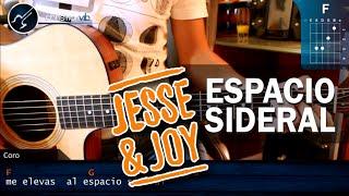 """Cómo tocar """"Espacio Sideral"""" de Jesse & Joy en Guitarra Acústica (HD) Tutorial - Christianvib"""