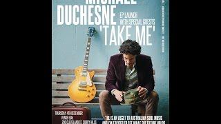 "Michael Duchesne ""Walk in Her Shoes"" Live on Eastside Radio 89.7 (14.11.2014)"