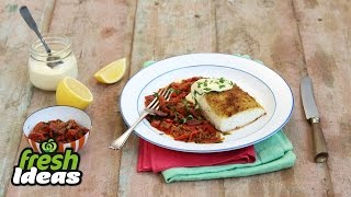 Baked Fish Recipe Provencal