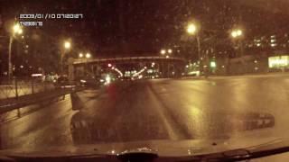 ДТП на Славе после ЖД моста 13 02 2017