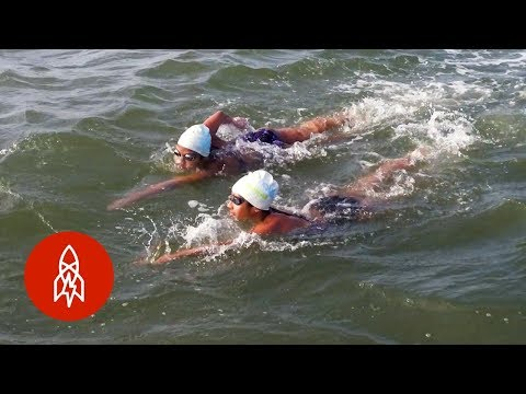 Swimming From Alcatraz to San Francisco 48 Times