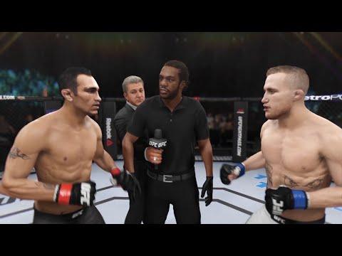 Тони Фергюсон vs Джастин Гэтжи: Симуляция боя