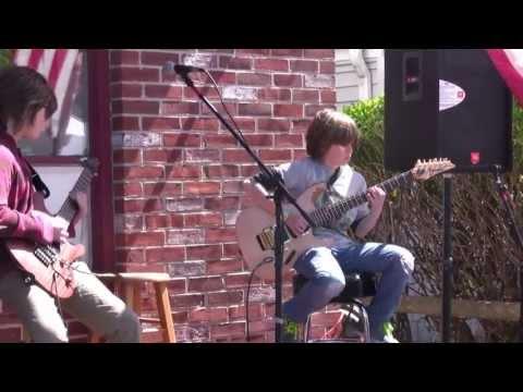 Ocean City NJ 2013 Spring Block Party - Hendrix Purple Haze Cover Live at Grass Roots Ibanez EGEn8