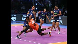 Pro Kabaddi 2018 Highlights | Haryana Steelers Vs U Mumba  | Hindi