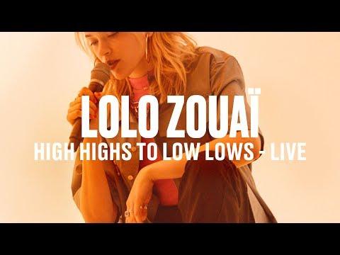 """Lolo Zouaï - """"High Highs to Low Lows""""   Vevo DSCVR"""