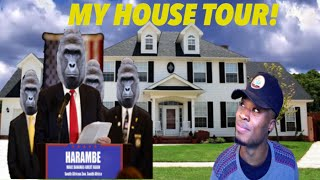 THE BIGGEST YOUTUBER MANSION! HOUSE TOUR - #AskVic HARAMBE SPECIAL w/ SHOUTOUT