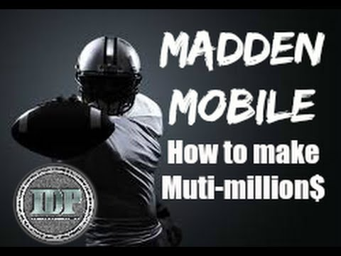 How to make fast money madden mobile working