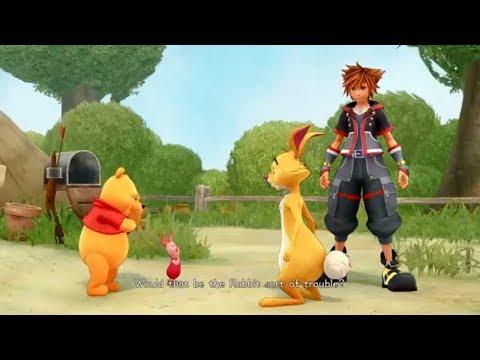 Kingdom Hearts 3 English Winnie The Pooh Cutscene The Hundred Acre Wood