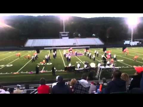 Shikellamy Marching Braves (2013 Shamokin Tournament of Bands Competition)