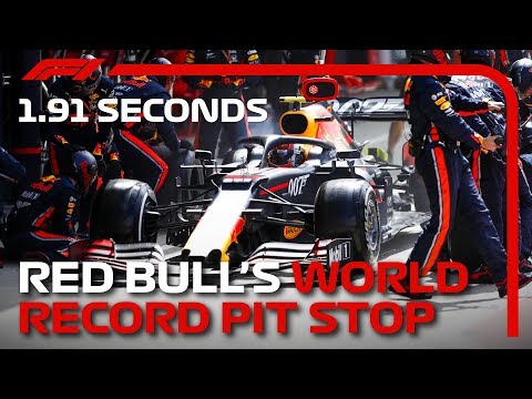 Don't blink: Red Bull Racing sets world record for fastest pitstop