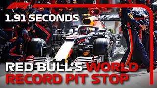 Red Bull's World Record Pit Stop | 2019 British Grand Prix