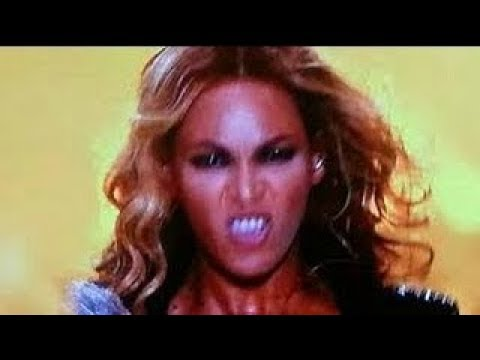 Beyonce Eyes Turn Black LE DEMON DE BEY...
