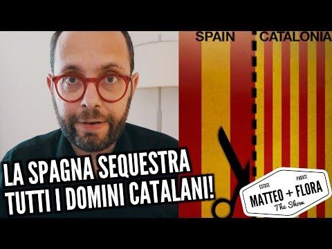 La Spagna sequestra tutti i domini della Catalogna!