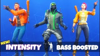 NEW! INTENSITY DANCE EMOTE (BASS BOOSTED) Fortnite Battle Royale
