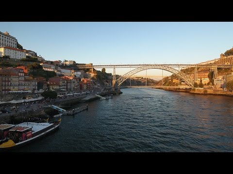 Porto from drone and GoPro - Portugal trip 2016