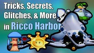 Tricks, Secrets, Glitches, & More in Ricco Harbor in Super Mario Sunshine